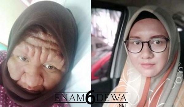 Nor Sahira Berubah Wajah Seperti Nenek-Nenek, Begini Transformasi Perubahannya